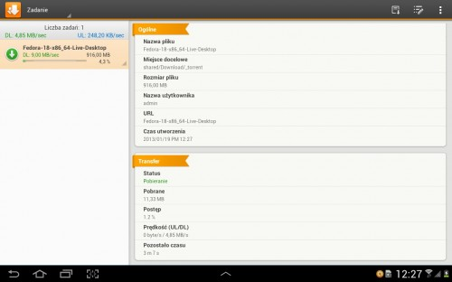 screen 02 - DS download (wersja Android)