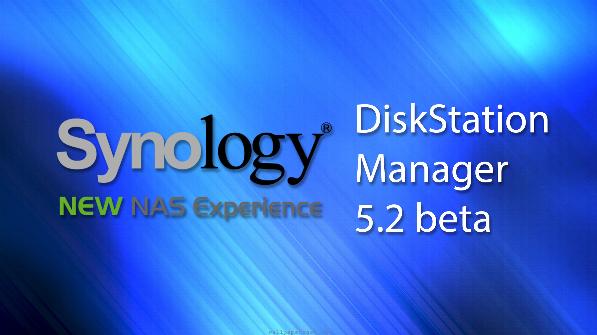 Synology DiskStation Manager 5.1 beta